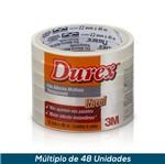 Fita 3M Durex Transparente 12mmx10mts Flow Pack