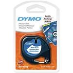 Fita P/rotulador Dymo Plástico Branco Letratag 91331