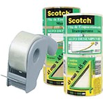 Fita para Empacotamento Scotch 5802 Trans.45x45m+dispe Kit C/48 3m