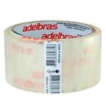 Fita Qualitape Transparente Adelbras 4,8cmx40m