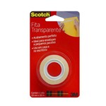 Fita Scotch Transparente 19mmx20m-3m