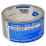 Fita Silver Tape 48x10 Prata Norton