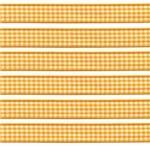 Fita Xadrez 760 15mm - 10 Metros 15 - Amarelo Ouro