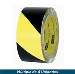 Fita Zebrada 3M 5702 Amarelo/Preto 50mmx32,9mts