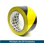 Fita Zebrada 3M C/ Adesivo 766 50mmx33mts