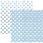 Fl P/ Scrap Basico Poa Pequeno Azul Claro (By Mariceli)