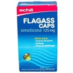 Flagass 125 Mg 10 Capsulas Gel