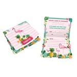 Flamingo Convite C/8 - Regina