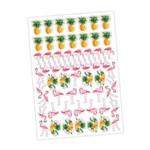 Flamingo Mini Personagens Decorativos C/58 - Regina