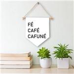 Flâmula Decorativa Fé, Café, Cafuné