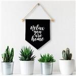 Flâmula Decorativa Relax You Are Home
