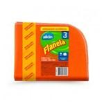 Flanela Embalagem Economica 3x1