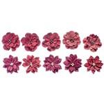 Flores Artesanais Feito a Mão Clássicas Rouge Flor105 - Toke e Crie
