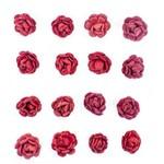 Flores Artesanais Feito a Mão Micro Rouge FLOR98 - Toke e Crie