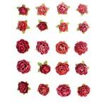 Flores Artesanais Feito a Mão Mini Rouge FLOR93 - Toke e Crie
