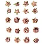 Flores Artesanais Feito a Mão Mini Sépia FLOR92 - Toke e Crie