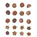 Flores Artesanais Mini Chocolate Flor91 - Toke e Crie