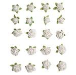 Flores Artesanais Mini Pureza Flor87 - Toke e Crie