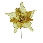 Flores Cabo Médio Flor Ouro 44 X 24 Cm