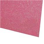 Folha de EVA 40x60cm - Glitter Neon Rosa - 5 Unidades
