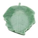 Folha Decorativa de Porcelana Verde Tricket Grande Urban