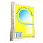 Folha para Fichario Colegial Pacote com 3 Blocos 96 Folhas