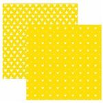 Folha para Scrapbook Disney Toke e Crie Mickey Mouse Estampado Amarelo – Sbd05 – 208