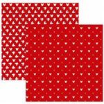 Folha para Scrapbook Disney Toke e Crie Mickey Mouse Estampado Vermelho – Sbd06 – 208