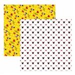 Folha para Scrapbook Disney Toke e Crie Minnie Mouse Estampado – Sbd13 – 208