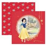 Folha para Scrapbook Dupla Face Disney Toke e Crie Branca de Neve 1 Guirlanda - 19560 - Sdfd75
