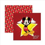Folha para Scrapbook Dupla Face Disney Toke e Crie Mickey Mouse 1 Guirlanda - 19305 - Sdfd011