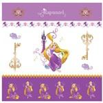 Folha para Scrapbook Dupla Face Disney Toke e Crie Rapunzel 1 Cenário e Bandeirolas - 20719 - Sdfd148