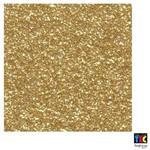 Folha para Scrapbook Puro Glitter Toke e Crie Dourado - 8934 - Kfs073