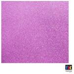 Folha para Scrapbook Puro Glitter Toke e Crie Púrpura - 15338 - Sdpg10