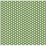 Folha para Scrapbook Simples Litocart 30,5 X 30,5 Cm - Modelo Lsc-208 - Poá Verde
