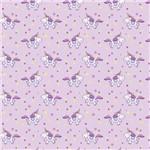 Folha para Scrapbook Simples Litocart 30,5 X 30,5 Cm - Modelo Lsc-334 Ponei Rosa