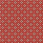 Folha para Scrapbook Simples Litocart 30,5 X 30,5 Cm - Modelo Lsc-338 Boia Vermelha