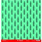 Folha para Scrapbook Simples Litocart 30,5 X 30,5 Cm - Modelo Lsc-287 - Big Bang