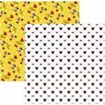 Folha Scrapbook Básico Minnie Mouse Estampado Ref.20840-SBD13 Toke e Crie