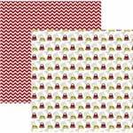 Folha Scrapbook Básico Minnie Mouse Ícones Ref.20837-SBD10 Toke e Crie