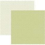Folha Scrapbook Básico Poá Pequeno Verde Claro Ref.20003-KFSB462 Toke e Crie