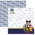 Folha Scrapbook Dupla Face a Casa do Mickey 2 Paisagens Ref.19687-SDFD103 Toke e Crie