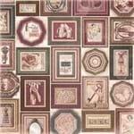 Folha Scrapbook Dupla Face Charmed Curious (Curiosos) Ref.21101-WER118/22601266 American Crafts