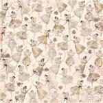 Folha Scrapbook Dupla Face Charmed Dance (Dança) Ref.21102-WER119/22601267 American Crafts
