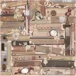 Folha Scrapbook Dupla Face Charmed Image (Imaginação) Ref.21104-WER121/22601269 American Crafts