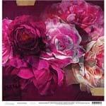 Folha Scrapbook Dupla Face Hawthorne Flourish (Florescer) Ref.21145-WER162/314113 American Crafts