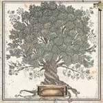 Folha Scrapbook Dupla Face Once Upon a Lifetime Árvore Genealógica (Family Tree) Ref.21090-WER107/7310082 American Crafts