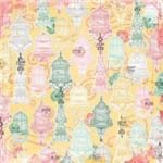 Folha Scrapbook Dupla Face Sunshine Bliss Tranquility (Tranquilidade) Ref.21118-WER135/7310196 American Crafts