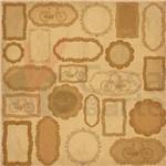 Folhas para Scrapbook Dupla Face Coleção Vintage Viagem Toke e Crie Meios de Transportes 12823 - Sdf293