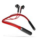 Fone de Ouvido Duplo Sem Fio Bluetooth Baseus Encok Neck Hung Wireless Earphone S16 Vermelho